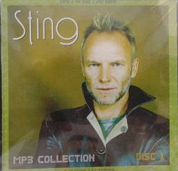 MP3 диск. Sting - MP3 Collection