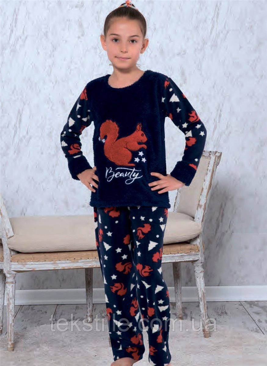 Пижама флисовая Детская Miss Tico