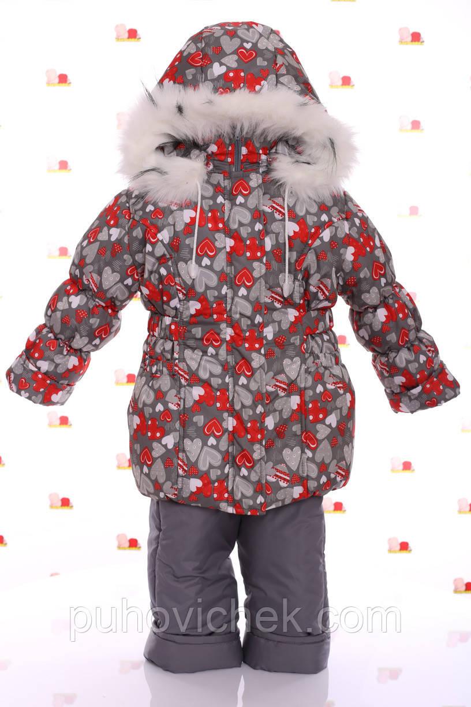 Дитячі зимові комбінезони для дівчаток на овчинка інтернет магазин виробник