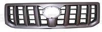 Решетка радиатора Toyota Land Cruiser Prado J120 '03-09 (FPS) металлик/черная 5310160310