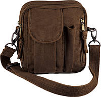 Сумка Rothco Canvas Excursion Organizer - Earth Brown, фото 1