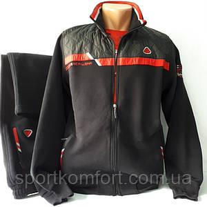 Тёплый спортивный костюм, Турция, Соккер, чёрный.