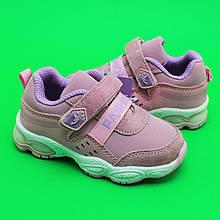 Кроссовки для девочек на липучках Розовые Fashion Том.м размер 22,23,24 f76538e509e