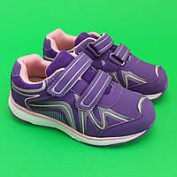 Кроссовки детские для девочки на липучках обувь Том.м размер 27,28,29,30,31
