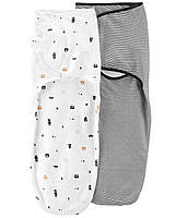 Пеленка-кокон на липучках Carter's (2 шт)  6-9 месяцев