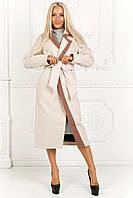 Женское пальто миди, кашемир на подкладке, размер 42-46