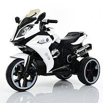Мотоцикл детскийM 3913-1, белый Гарантия качества Быстрая доставка