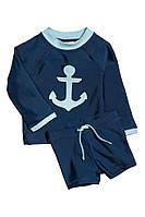 Детский солнцезащитный пляжный комплект для мальчика 6-12 месяцев, 1-2 года