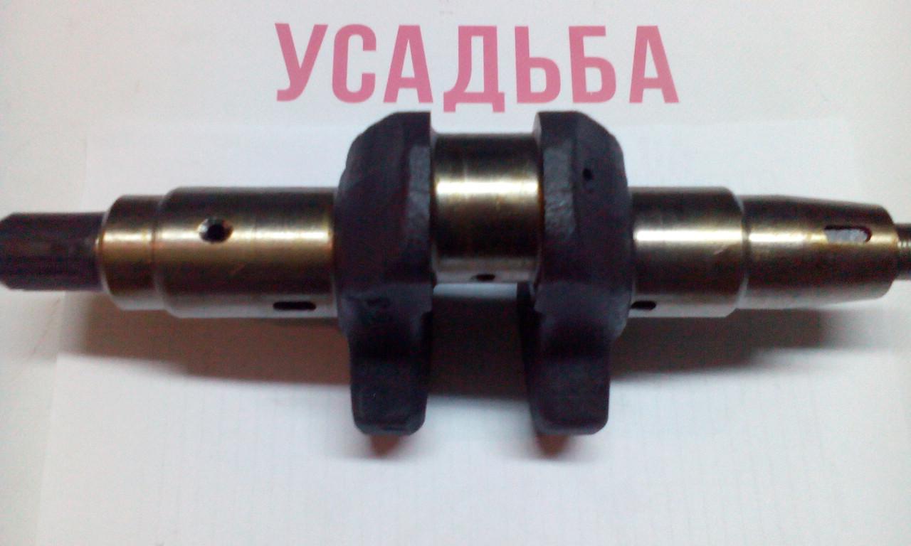 Вал коленчатый (коленвал) шлицевой 186F для двигателя дизельного мотоблока