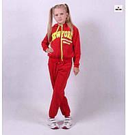 Детский теплый костюм на девочку р.30-40