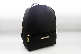 Женский рюкзак MICHAEL KORS, стильный портфель МАЙКЛ КОРС, цвет черный