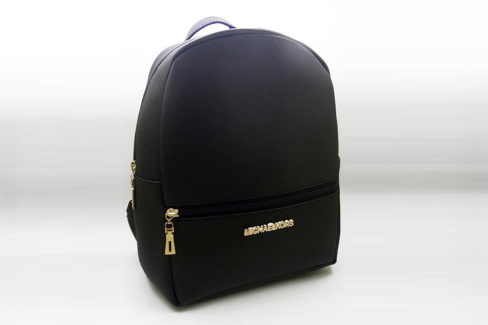 2021a18c9419 Женский рюкзак MICHAEL KORS, стильный портфель МАЙКЛ КОРС, цвет черный