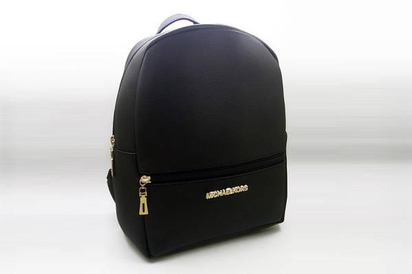 df1ad24c0245 Женский рюкзак MICHAEL KORS, стильный портфель МАЙКЛ КОРС, цвет черный