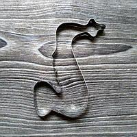 Вырубка для печенья и пряников Саксофон
