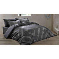 Комплект постельного белья ТАС Bellamy Gri сатин де люкс 220-200 см, фото 1