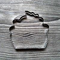 Вырубка для печенья и пряников Кекс 2