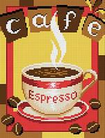 """Схема для вышивки крестом на канве Аида №16 """"Чашка кофе"""""""