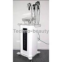Аппарат 5 В 1: Кавитация, многополярный радиолифтинг, вакуум с Rf и микротоки для лица вертикальный А -51