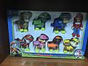 Набор игрушек Щенячий патруль (8 супергероев), фото 2