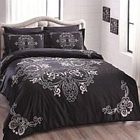 Комплект постельного белья тм Tac сатин де люкс евро размера Sherly