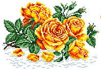 """Схема для вышивки крестом на канве Аида №16 """"Аромат розы"""""""