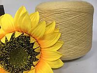 Итальянская пряжа Zegna Baruffa art.Cashwool (желтый) меринос 100% 1500 м./100 гр.