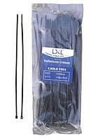Кабельная стяжка 3*200 мм черная (100 шт.) LXL