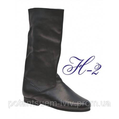Чоловічі чоботи для народних танців. Чорні 15dde388afdef