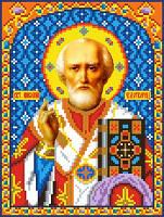 """Схема для вышивки крестом на канве Аида №16 """"Св. Николай Чудотворец"""""""
