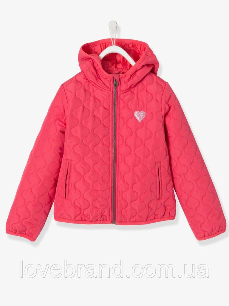 Легкая демисезонная курточка для девочки Vertbaudet (Франция) 10 л/138 см