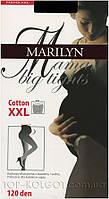 Колготки хлопковые для беременных MARILYN Mama Cotton 120 XXL