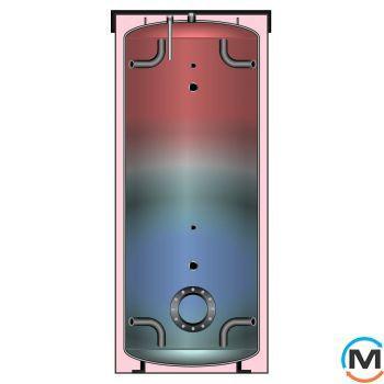Meibes PSB 750 бак ГВС без змеевиков со съемной теплоизоляцией