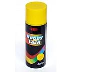 """Краска-спрей mixon""""hobby lack"""" (жёлтый 316) 400 мл"""