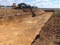Строительство водных объектов, искусственных водоемов,гидросооружений