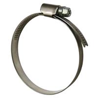 Хомут 16-25 затяжной червячный DIN 3017-1 стальной оцинкованный