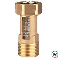 "Расходомер DFM Afriso 15-2M, G 3/4"" х накидная гайка 3/4"", 1-6 л/мин"
