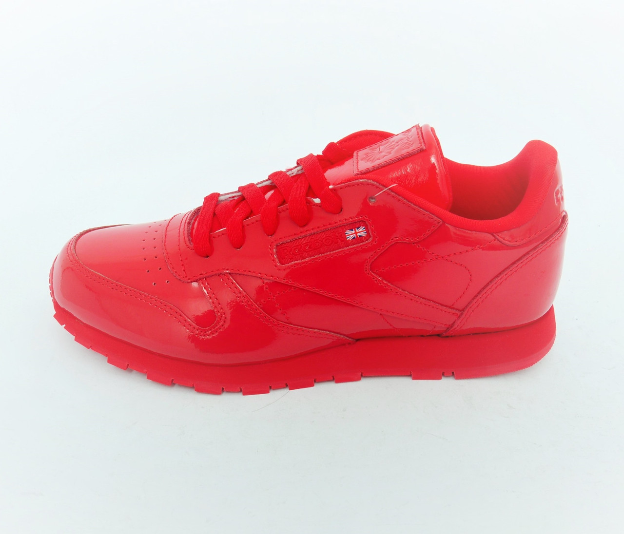 Женские Кроссовки Reebok Classic Leather Patent Red CN2062 — в ... 1d4292f4a21
