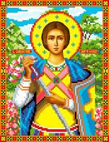 """Схема для вышивки крестом на канве Аида №16 """"Св. Влм. Дмитрий Солунский"""""""