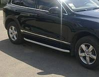 """Пороги боковые """"Allyans"""" для Volkswagen Touareg 2010-..."""
