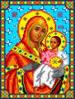 """Схема для вышивки крестом на канве Аида №16 """"Икона БМ Вифлеемская"""""""