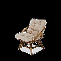 Кресло с подушкой 0113 O олива Calamus Rotan