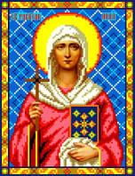 "Схема для вышивки крестом на канве Аида №16 ""Св. Равноап. Нина"""