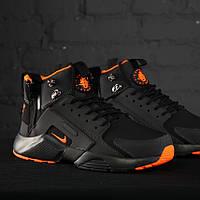 Nike Huarache Winter Acronym Black Orange (реплика)