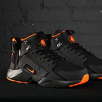 Nike Huarache Winter Acronym Black Orange (реплика)