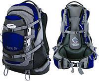 Рюкзак спортивный Terra Incognita Tirol 35  grey-blue