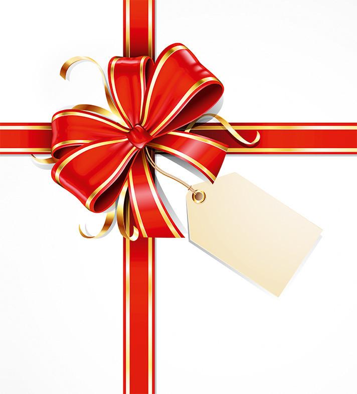 """Подарочные пакеты """"Подарочный бант"""" 23 х 24 см  (6 шт./уп.)"""