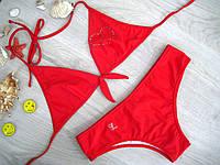 Купальник женский, плавки слип Levante (красный)