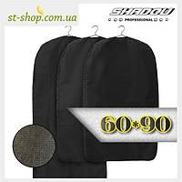 """Чехол для хранения одежды """"Shadow"""" на молнии черного цвета размер 60*90, фото 1"""