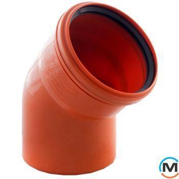 Колено канализационное Magnaplast KG 160/30