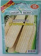 """Семена  кукурузы Сахарная, среднеспелая, 50 г, """"Елiтсортнасiння"""", Украина"""